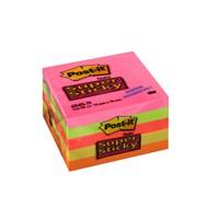 Post-it® Super Sticky Not, 5 Neon Renk, 90 yaprak, 76x76mm