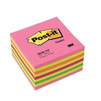 3M Post-it® Küp Not, Gökkusagi Pembe Tonlari, 450 yaprak, 76x76mm