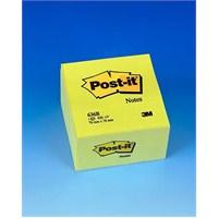 Post-it® Küp Not, Sari, 450 yaprak, 76x76mm