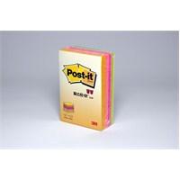 Post-it® Küp Not, Neon Renkler, 225 yaprak, 51mm76mm