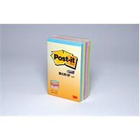 Post-it® Küp Not, Pastel Renkler, 225 yaprak, 51mm76mm