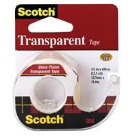 Scotch® Bant Kesicili Şeffaf Kırtasiye Bandı