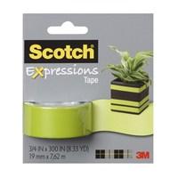 Scotch® Renkli Bant Yeşil 19mm x 7,62m