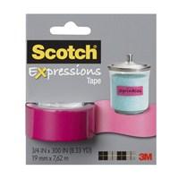 Scotch® Renkli Bant Pembe 19mm x 7,62m