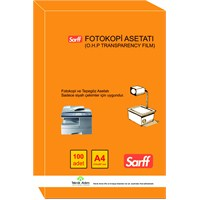 Sarff Fotokopi Asetatı A4 100 adet