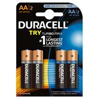 Duracell Karma Paket Kalem Pil 4'lü (2 Basic + 2 Turbo Max Pil)