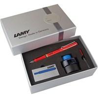 Lamy Safari Dolma Kalem Setı M G.Kutu Kırmızı 16Ds-M