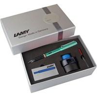 Lamy Al-Star Dolma Kalem Setı M G.Kutu Mavı-Yesıl 32Ds-M