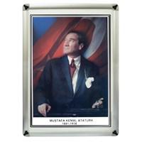 Akyazı 50x70 Atatürk (Metal Çerçeve)