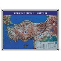Akyazı 70x100 Türkiye Fiziki Harita