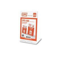 Ops OPS056 A6 Kart Tutucu (Şeffaf)