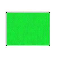 Akyazı 30x45 Duvar Monte Kumaşlı Pano (Yeşil)