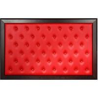 Akyazı 90x140 Düğmeli Makam Arkalığı (Bordo)