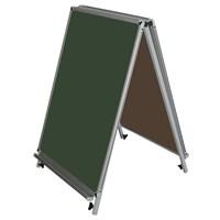 Akyazı 60x85 Laminat Üçgen Tip Çiftaraf Y.Tahtası (Yeşil)