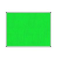 Akyazı 120x240 Duvara Monte Kumaşlı Pano (Yeşil)