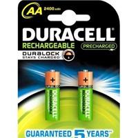 Duracell 2'li Rechargeable AA Pil 2400 mAh