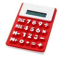 Pf Concept 12345401 Silikon Hesap Makinası Kırmızı