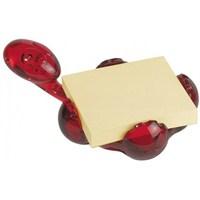 Koziol 5548-536 Archıbald Not Kağıdı Tutacağı Kırmızı