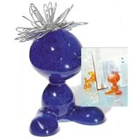 Koziol 5535-537 Curly Ataçlık Mavi