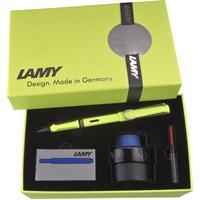Lamy Safari Dolma Kalem Setı M Y.Kutu Neon Lysl 43Yds-M