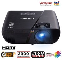 Viewsonic PJD5555W 3300 Ansilümen 1280x800 WXGA DLP Projeksiyon Cihazı