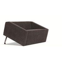 Nav Decoration Box Üçlü Kanepe Siyah