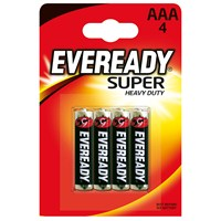 Energizer (C1-7550) Eveready Çinko Karbon AAA İnce Kalem Pil 4Lü Blister