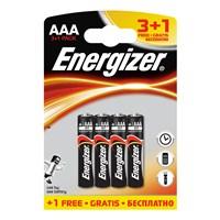 Energizer (D4-2097) Base Alkalin AAA İnce Kalem Pil 3+1Li Blister