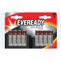 Energizer (D37-6197) Eveready Silver Alkalin AA Pil 8Lİ Blister
