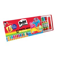 Pritt 12'li Pastel Boya Karton Kutu (1048061)