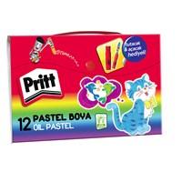 Pritt 12 Renk Çantalı Pastel Boya (1048062)