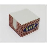 Liz 8.5x8.5 Ivory Karton Kutu Küp Blok