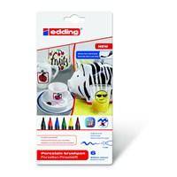 edding Porselen Kalemi 6'lı Set- Standart Renkler