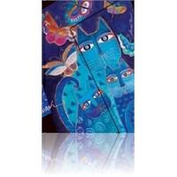Paperblanks Blue Cats Mini Çizgili 95 X 140Mm. 1019-7 Defter