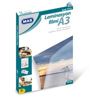 Mas 7713 Laminasyon Filmi- 150 Mic.- A3 - 100Lü Pk,