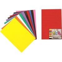 Nova Color Nc-269 Eva 20x30 cm 10 Renk Karışık Fon Kartonu