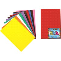 Nova Color Nc-362 Eva 50x70 cm 10 Renk Karışık Fon Kartonu