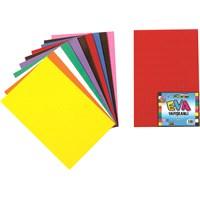 Nova Color Nc-363 Eva Yapışkanlı 50x70 cm 10 Renk Karışık Fon Kartonu