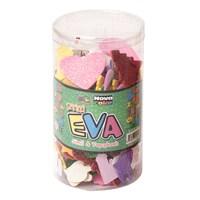 Nova Color Nc-451 Şekilli Eva Simli Yapışkanlı 35 Gr Fon Kartonu