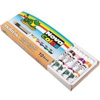 Nova Color Nc-233 Akrilik Boya 10 Renk Tüp Takım 18 cc