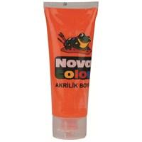 Nova Color Nc-262 Akrilik Boya Plastik Tüpte 75 gr Turuncu