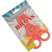 Brons Br-203 Tavşan Okul Makası Plastik