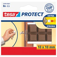 Tesa Kapı Çarpmalarına Karşı Tampon, 8 adt, Beyaz 10mm 10mm