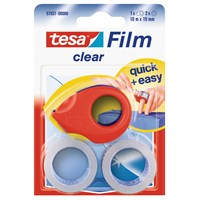 Tesa Film Clear 2adt + Mini Bant Kesici 10m 19mm