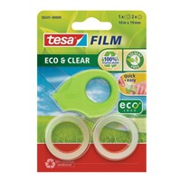Tesa Film Eco & Clear 2adt + Bant Kesici   10m 19mm
