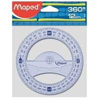 Maped 242360 12 cm Geometrik Açı Ölçer 360°