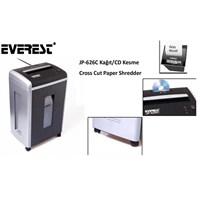 Everest Jp-626C Kağıt Kesme ve Evrak İmha makinesi 30 litre