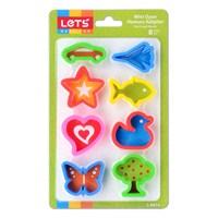 Lets L8414 Mini Oyun Hamuru Kalıpları