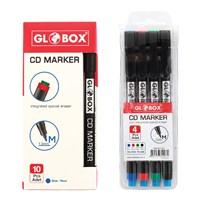 Globox Cd Kalemi M Karışık 4'Lü 1007