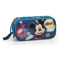 Mickey Mouse Lisanslı Kalemlik / Kalem Çantası